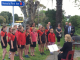 Members of Haumoana Schools Choir supported the event with songs2