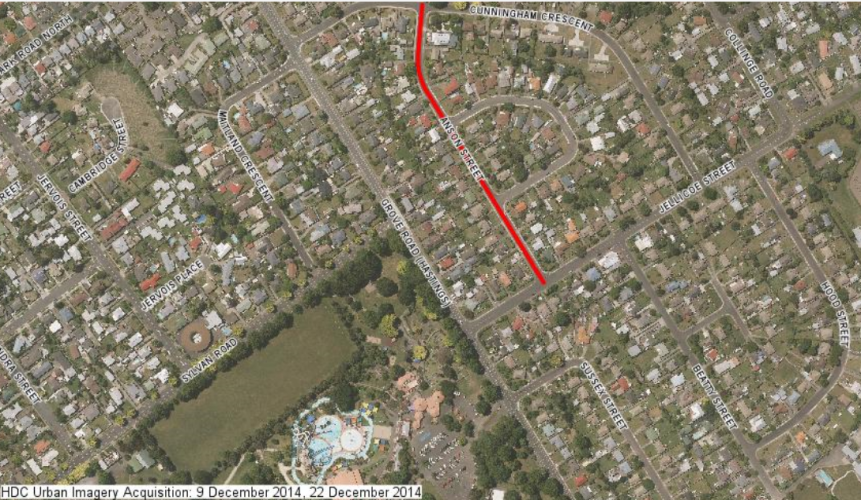 058 Anson St Hastings From Hastings District Council GIS system imagery 2015