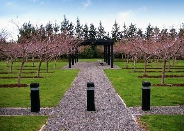 135 Remembrance Garden Featherston Memorial Cherry Trees