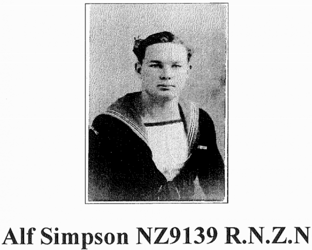 179 Alf Simpson Drive Whitianga Alfred Simpson in WW2 uniform