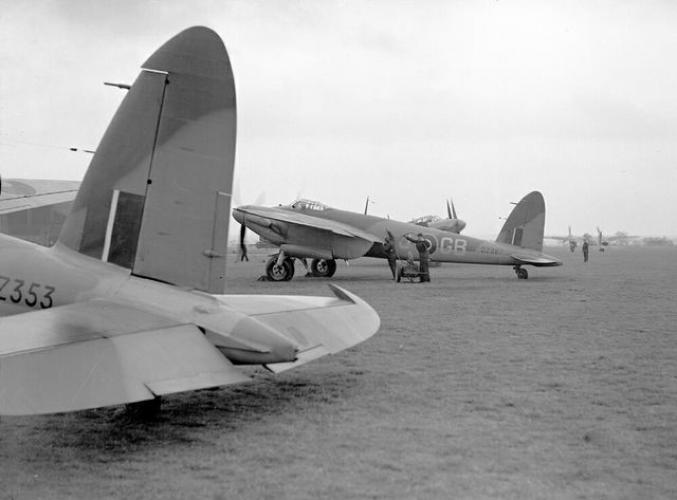 244 Polglase Street Richmond 105 Squadron Mosquitos at Marham