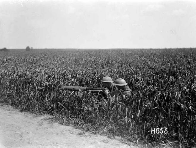 258 Gunners Lane LMC Palmerston North NZ Machine Gun Sqn France 1918.