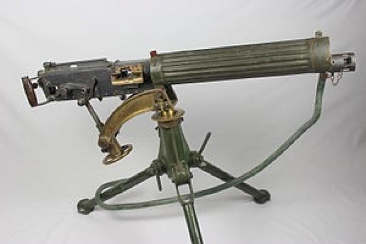 258 Gunners Lane LMC Palmerston North Vickers machine gun